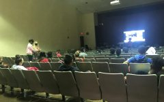 Assembly in the lecture hall