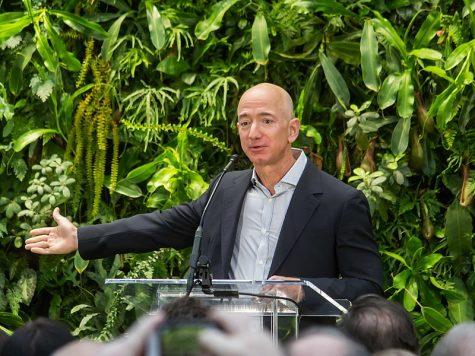 Jeff Bezos also owns space exploration company, Blue Origin and the Washington Post. Bezos has a net worth of $195 billion dollars.