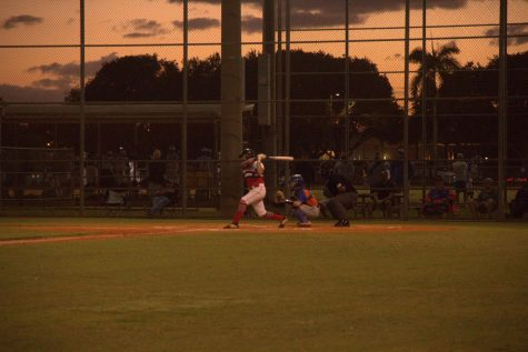 Santaluces Baseball Face Off Against Palm Beach Gardens