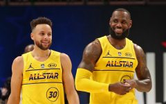 Superstars Stephen Curry and LeBron James teamed up for the first time this All-Star Weekend, and did not disappoint.