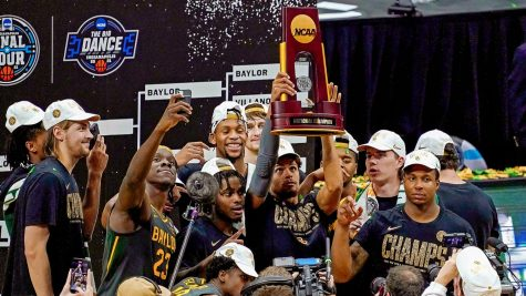 The Baylor Bears win their first ever NCAA men