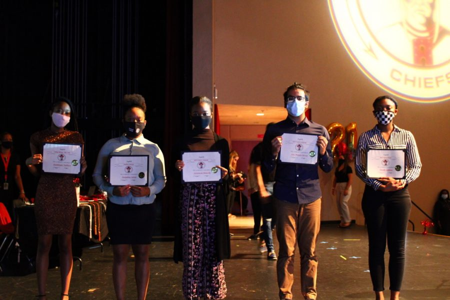 Student Achievements Are Showcased At The Senior Awards