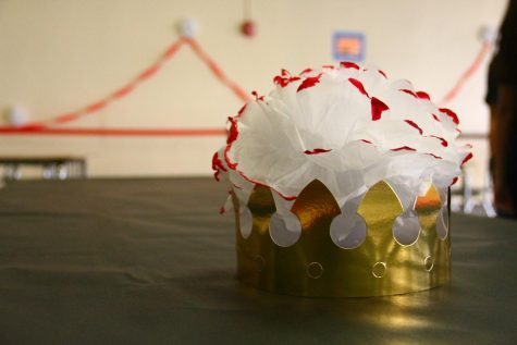 Seniors had the opportunity to create their own senior crown.