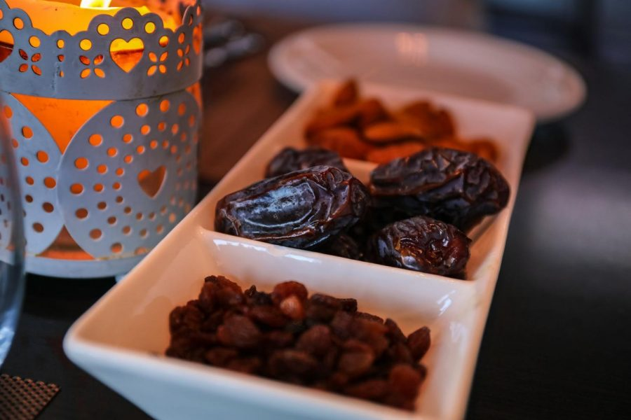 Dates are a common food to eat during Ramadan.