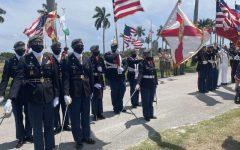 Santaluces JROTC Honors Veterans on Memorial Day