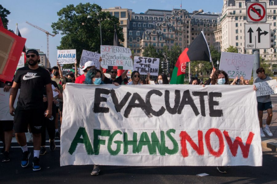 Protests+have+erupted+showing+support+to+the+Afghan+people+following+the+Talibans+August+takeover.